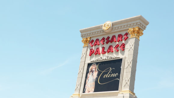 Celine Dion at the Caesars Palace
