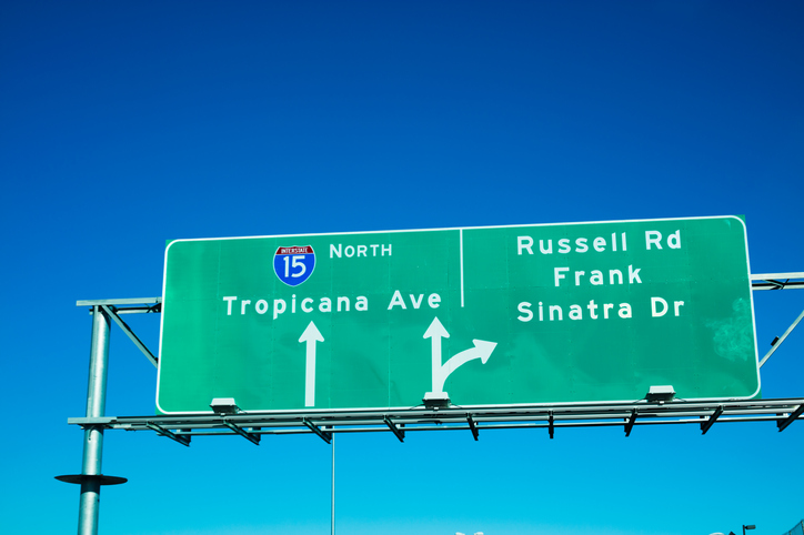 Frank Sinatra Drive   Las Vegas