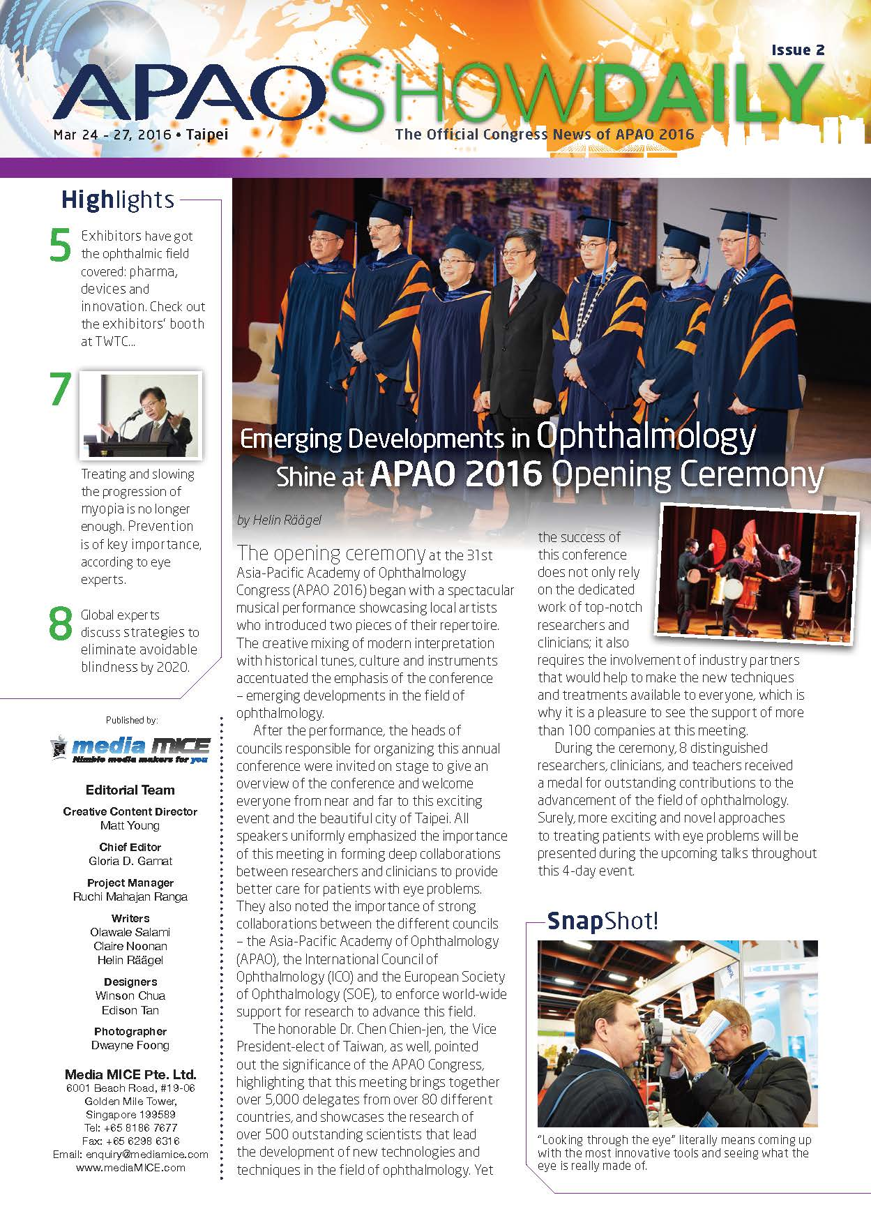 APAO ShowDaily Issue2 APAO web
