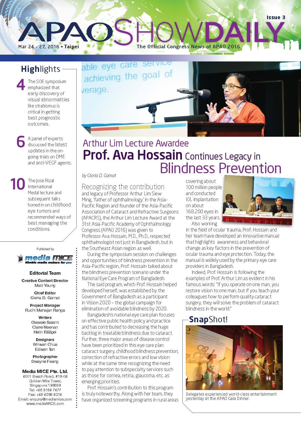 APAO ShowDaily Issue3 APAO_web