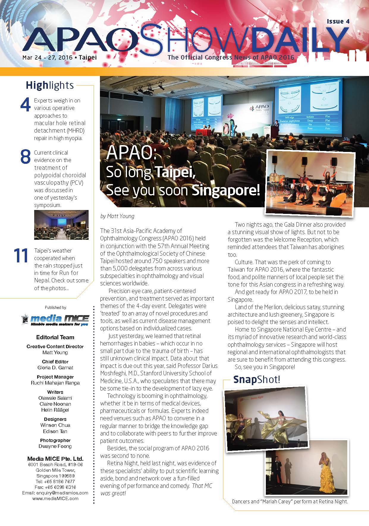 APAO ShowDaily Issue4 APAO web