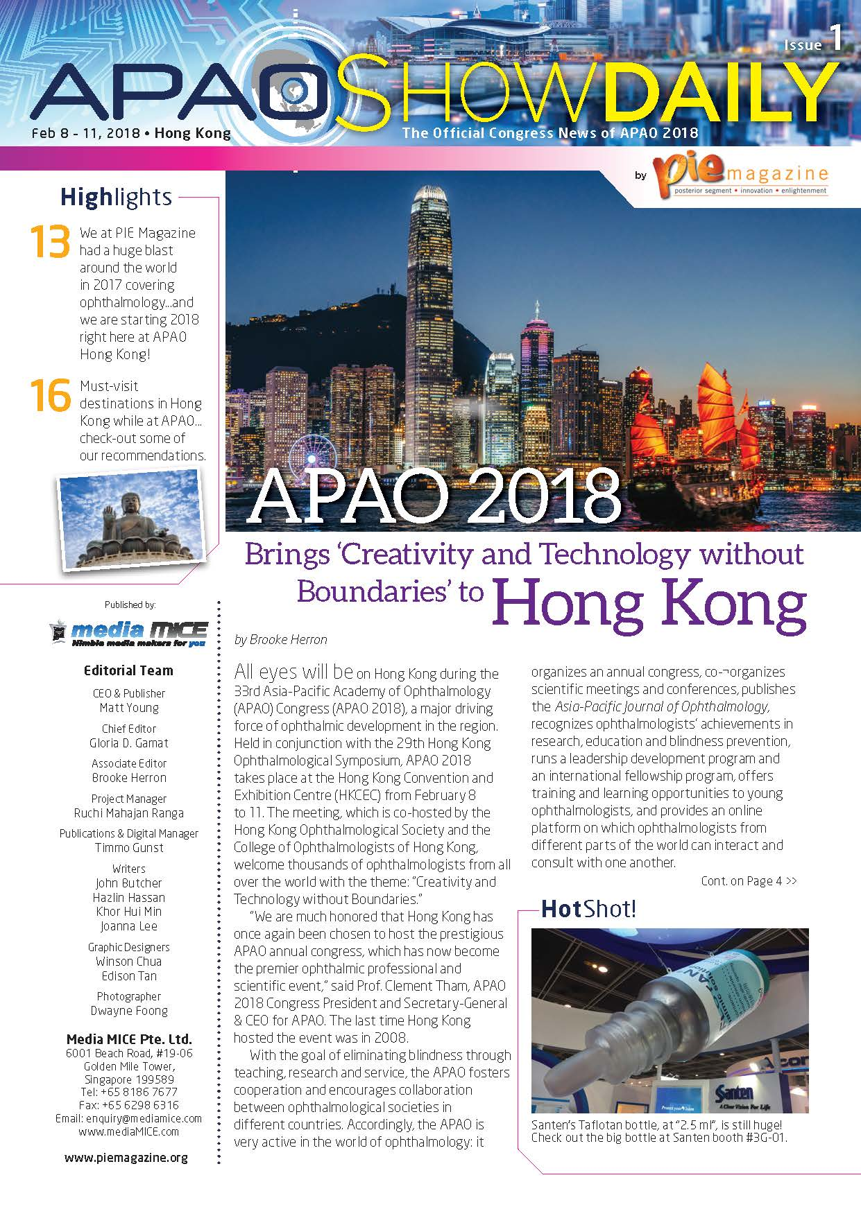 APAO ShowDaily Issue1 issuu