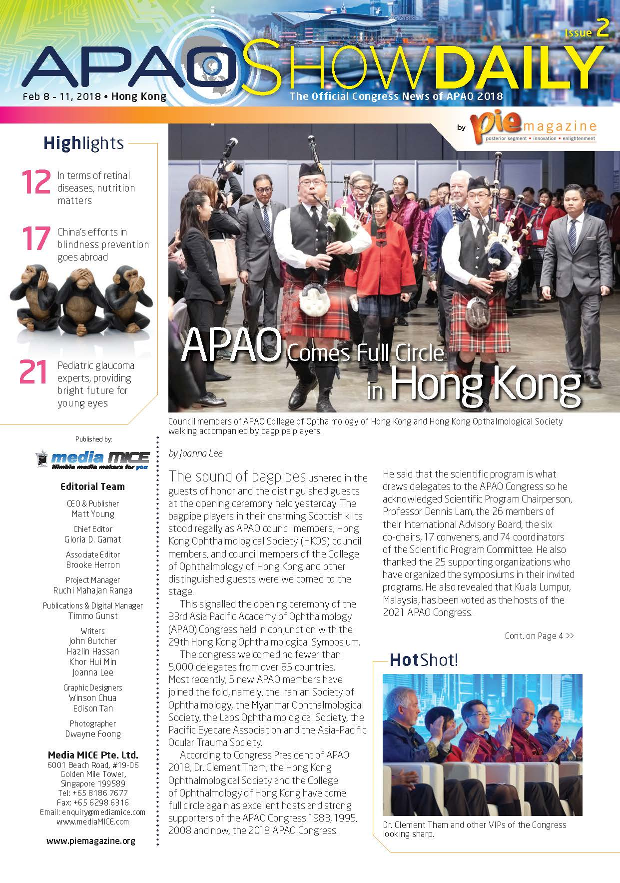 APAO ShowDaily Issue2 issuu