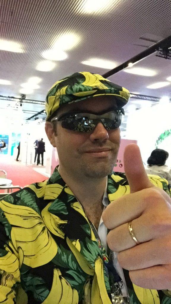 Banana Man . . . PIE Guy . . . Whatever you Call Me:  I Have Coronavirus (COVID - 19)