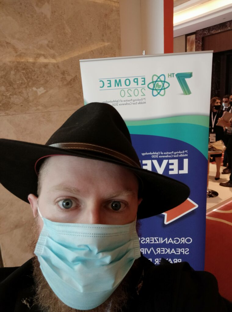 Journey to EPOMEC: Tales from Ophthalmology's First Post-Lockdown Conference